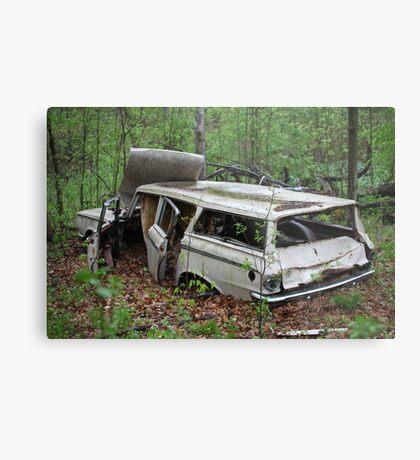 July Old Motor Car Metal Print