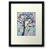 Leaves Of Love Framed Print