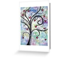 Leaves Of Love Greeting Card