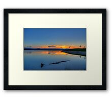 Rocky Mountain Sunset Series - A Sky On Fire Framed Print