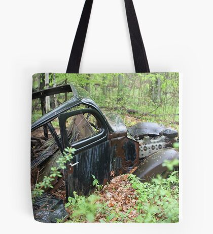 September Old Motor Car Tote Bag