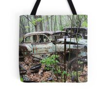 October Old Motor Car Tote Bag