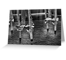 Dancing On Stilts Greeting Card