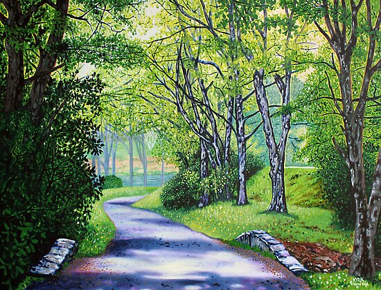 'Summer's Languid Path' by Jerry Kirk
