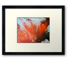 State of Matter Framed Print