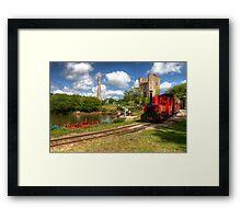 Lappa valley Railway Framed Print