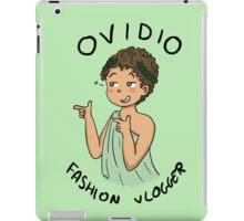 Ovidio Fashion Vlogger 1 iPad Case/Skin