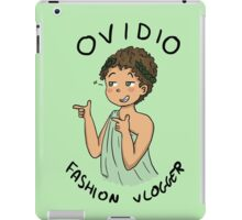Ovidio Fashion Vlogger 1 iPad Case/Skin