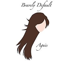 Bravely Default Agnès Photographic Print