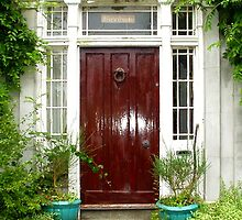 A Walk Around Hazelbank...The front door. by oulgundog
