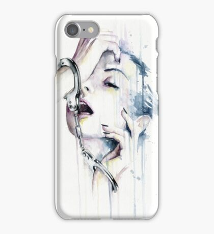 What makes you happy, makes you weak  iPhone Case/Skin