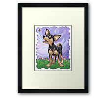 Animal Parade Chihuahua Framed Print