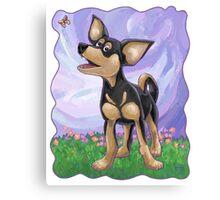 Animal Parade Chihuahua Canvas Print