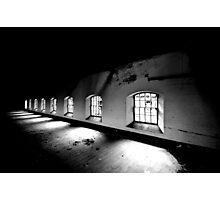 Receeding ~ Sleaford Bass Maltings Photographic Print