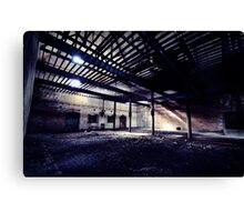 Scale ~ Sleaford Bass Maltings Canvas Print