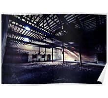 Scale ~ Sleaford Bass Maltings Poster