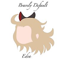 Bravely Default Edea Photographic Print