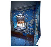 The Blue Room ~ Sleaford Bass Maltings Poster