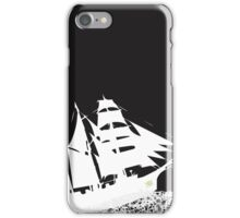 Les Mis Ship Silhouette iPhone Case/Skin