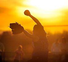 Sunset Pitch by Brett Clark