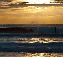 A Golden Moment of Surfing by Odille Esmonde-Morgan