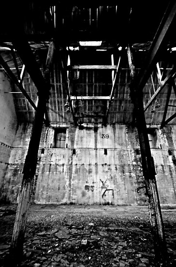 Support ~ Sleaford Bass Maltings by Josephine Pugh