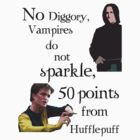 No Diggory, vampires do not sparkle by kippz07
