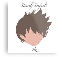Bravely Default Tiz Metal Print