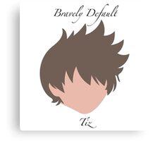 Bravely Default Tiz Canvas Print