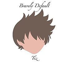 Bravely Default Tiz Photographic Print