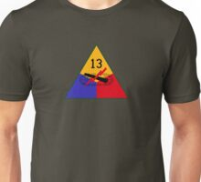 """13th Armored Division """"The Black Cats"""" (United States) Unisex T-Shirt"""