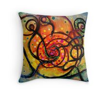 Nuclear fusion Throw Pillow