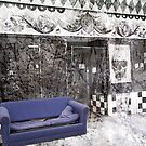 Sit Down (Purple sofa outside old shop) by GraphicMonkey