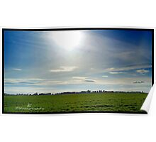 Country Sunset--Salem Oregon Countryside Poster
