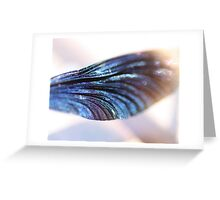 """Dragonfly-wing-cell"" Greeting Card"