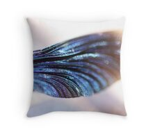 """Dragonfly-wing-cell"" Throw Pillow"