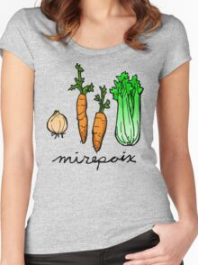 mirepoix Women's Fitted Scoop T-Shirt