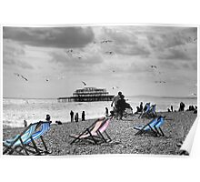 Brighton Seaside Poster