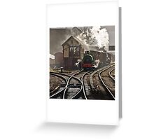 Bury Bolton St. Station Greeting Card