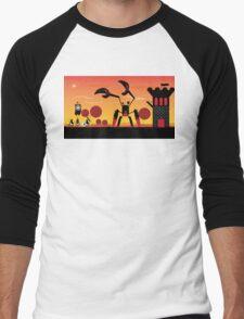 Patapon battle at dawn Men's Baseball ¾ T-Shirt