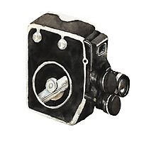 Vintage video camera Photographic Print