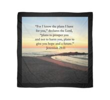 PEACEFUL JEREMIAH 29:11 PHOTO DESIGN Scarf