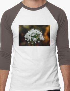 Macro flower Shot Men's Baseball ¾ T-Shirt