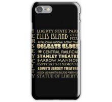Jersey City Famous Landmarks iPhone Case/Skin