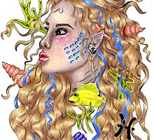 Pisces the mermaid by gabbyloscalzo