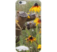 Rudbeckia and Wildflower Meadow iPhone Case/Skin