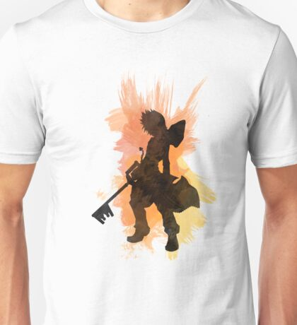 Kingdom Hearts: Watercolor Roxas Unisex T-Shirt