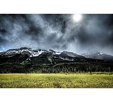 Summer Snowstorm Photographic Print