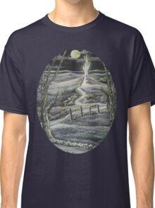 Fantasy by Moonlight Oval - Tshirt Classic T-Shirt