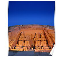 Abu Simbel Temple.. Poster